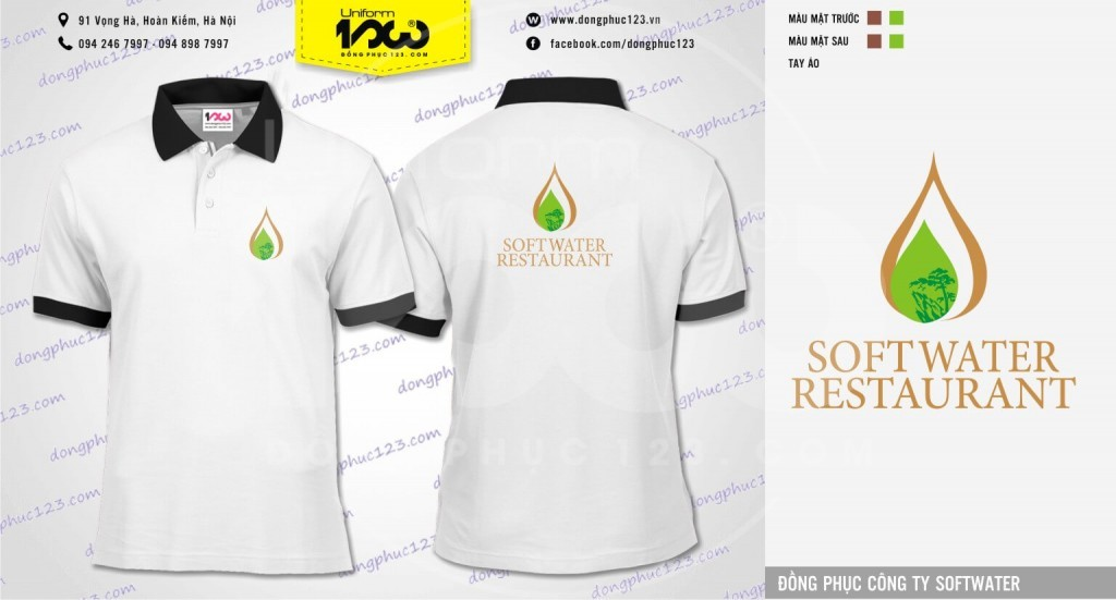 Đồng phục Công ty SOFTWATER