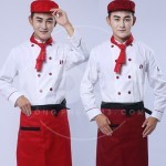 Đồng phục quần áo bếp MS12
