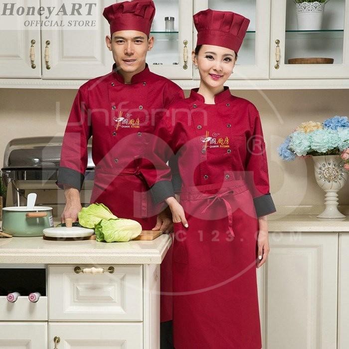 Đồng phục quần áo bếp MS23