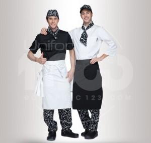 Đồng phục quần áo bếp MS21