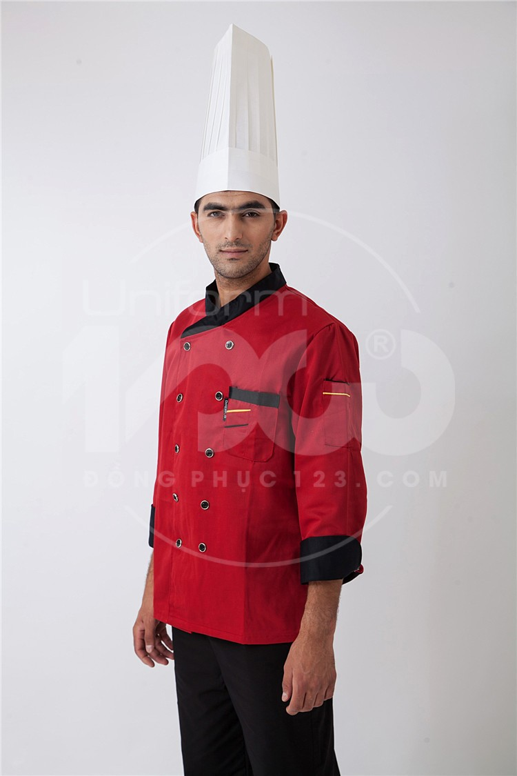 Đồng phục quần áo bếp MS18