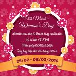 ĐỒNG PHỤC 123 – KHUYẾN MẠI YÊU THƯƠNG cho ngày Quốc tế phụ nữ 08/03/2016