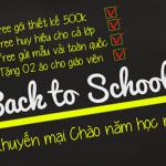 BACK TO SCHOOL 2017 – KHUYẾN MẠI NGẬP TRÀN