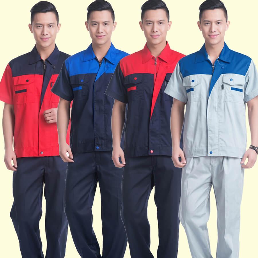 quần áo đồng phục công nhân đẹp tại Hà Nội