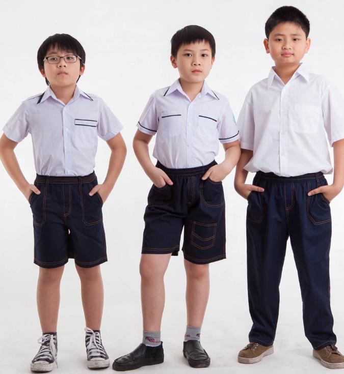 mẫu đồng phục học sinh tiểu học đẹp