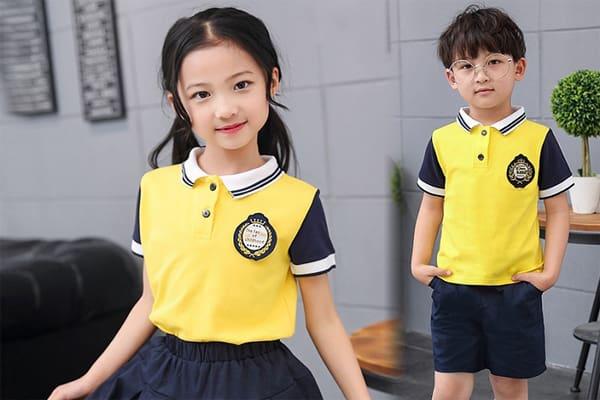 mẫu áo phông đồng phục học sinh đẹp